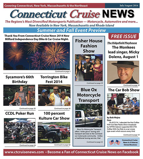 ct cruise news july august
